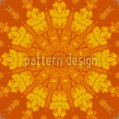 Gotisches Sonnenrad Designmuster