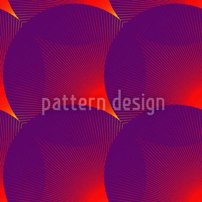 Das Glühen Der Kreise Muster Design