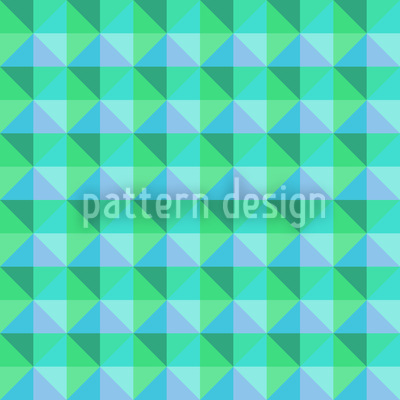 Checks Love Spring Vector Ornament
