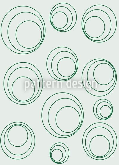 Circle Around Vector Pattern