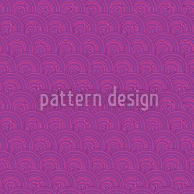 Fruchtgummi Wellen Rapportiertes Design