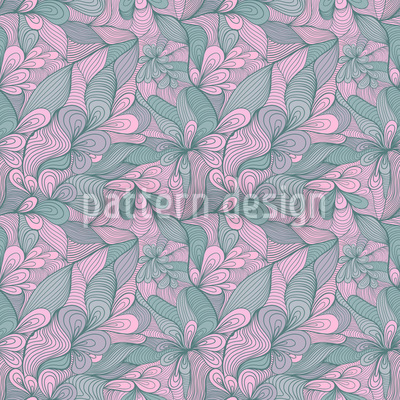 Floral Bonding Seamless Pattern