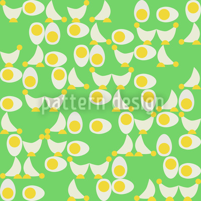 Chicken Or Egg Repeat Pattern