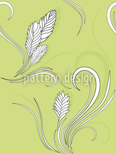 Bromelia Vektor Ornament