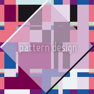 Glass Window Meets Bauhaus Pattern Design