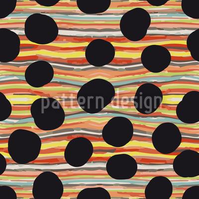 Black Hole River Seamless Pattern