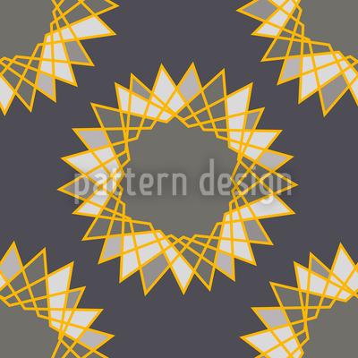 Sterne Messerscharf Vektor Muster