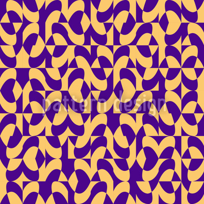 Eulatik Waves Seamless Vector Pattern
