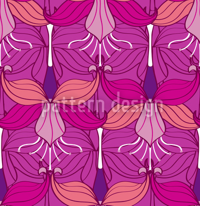 Bellflower Repeating Pattern