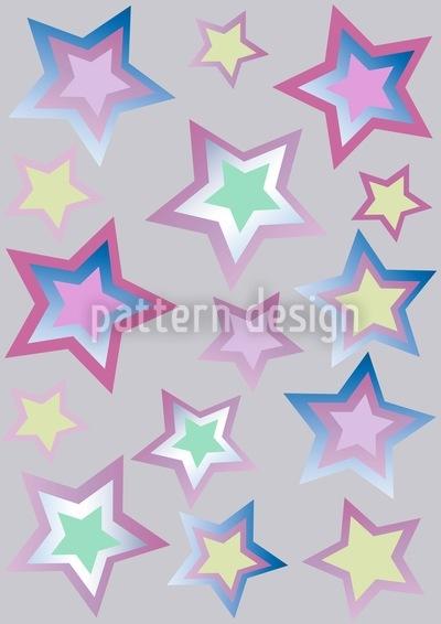 Sternenflitter Musterdesign