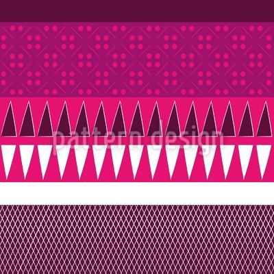 Ethno Patchwork Mix Vector Design