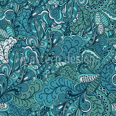 Fantasies Of Paradise Pattern Design