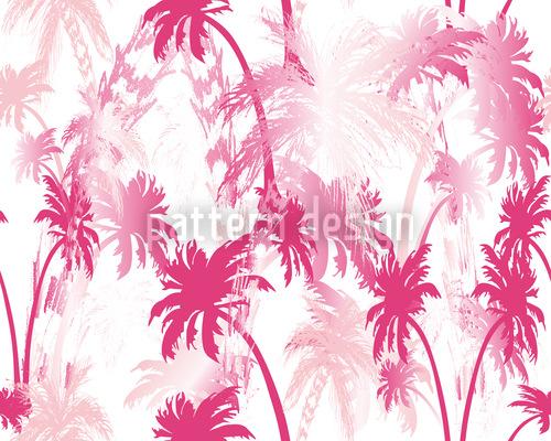 Unter Palmen Muster Design