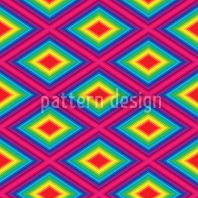 Regenbogen Quadratur Rapportiertes Design
