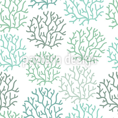 Korallen Frühling Vektor Ornament