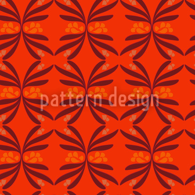 Retro Swirls Vector Pattern