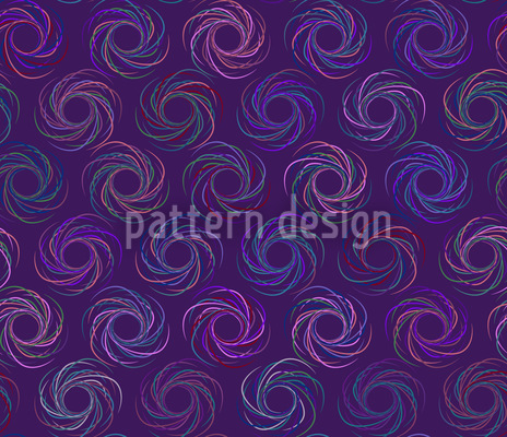 Disco Swirl Repeating Pattern