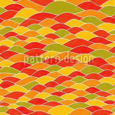 Wellenspiel Toscana Vektor Ornament