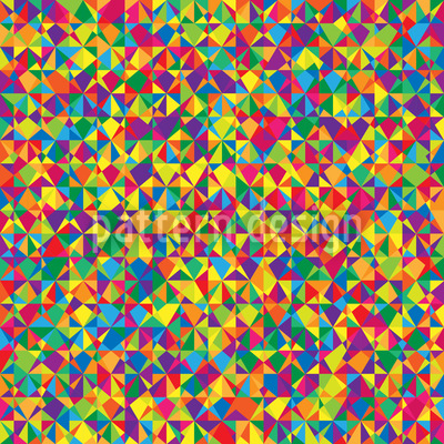 Kaleidoscope Spectrum Seamless Pattern