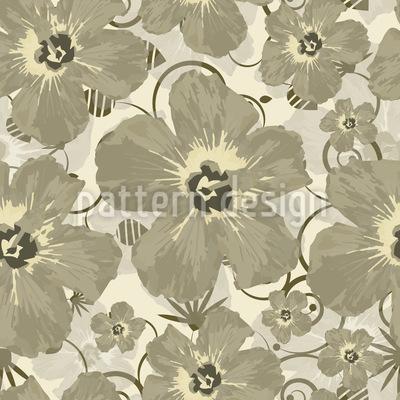 Hibiscus Bombay Designmuster