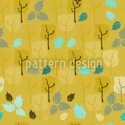 Wenn Die Letzten Blätter Fallen Rapportiertes Design