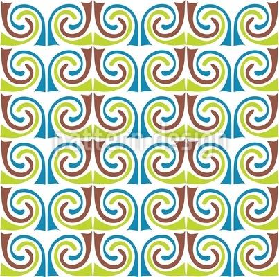 Minoische Bärte Muster Design