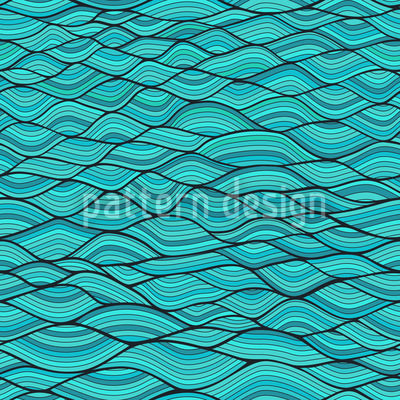 Wavy Arcs Pattern Design