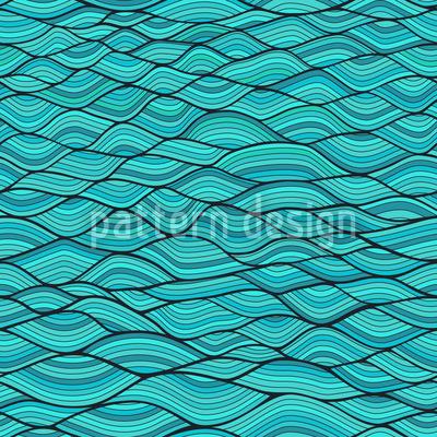 Wellenbögen Musterdesign
