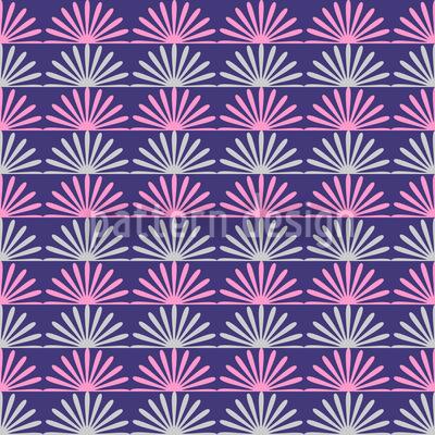 Floral Sunrise Pattern Design