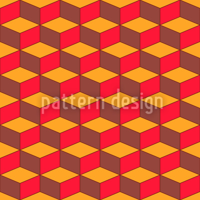 Treppensteigen Zum Quadrat Nahtloses Vektor Muster