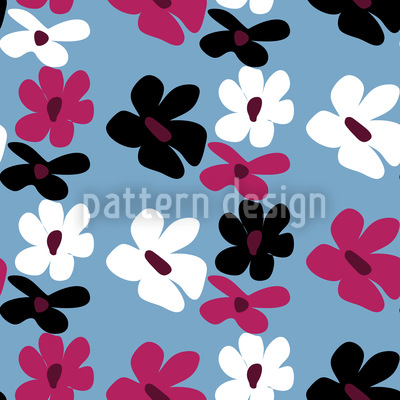 Simply Flora Vector Pattern