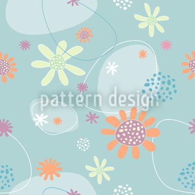 Flowers Mathilde Seamless Pattern