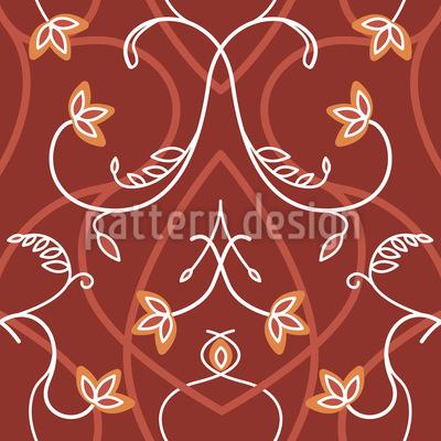 Gotik Blumen Muster Design