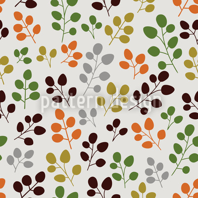 My Gentle Autumn Leaf Vector Ornament