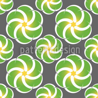 Vortex Flowers In Spring Design Pattern