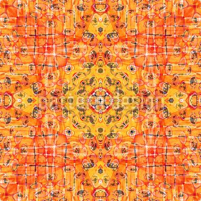 Desert Star Repeating Pattern