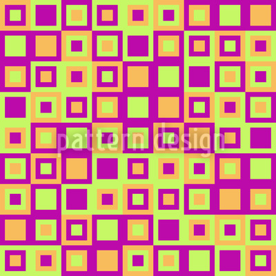 Happy Squares Seamless Pattern