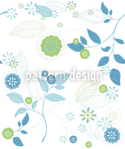 Spring Message Vector Pattern
