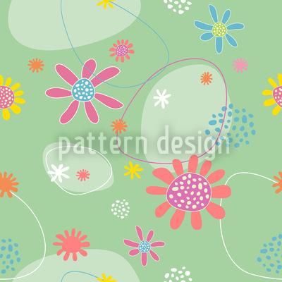 Blumen Astrid Nahtloses Muster