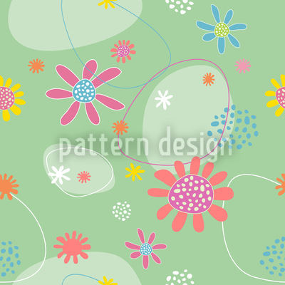 Flowers Astrid Seamless Pattern