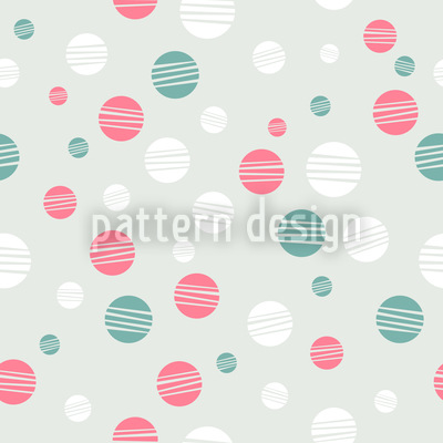 Springtime Marbles Seamless Vector Pattern