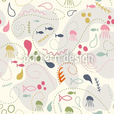 Pinky Planktons Patchwork Vektor Design