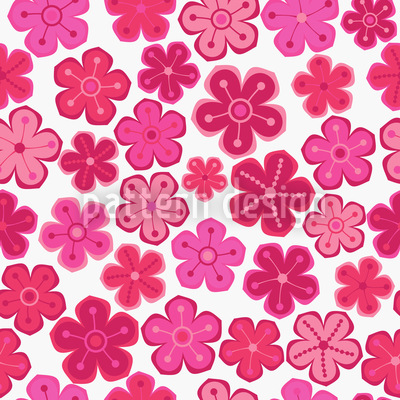 Pretty Flower Ladies Design Pattern