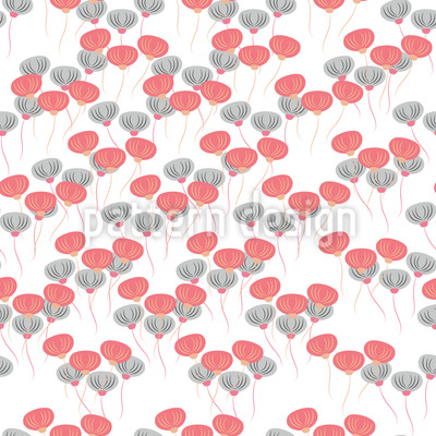 Lantern Flowers Vector Design