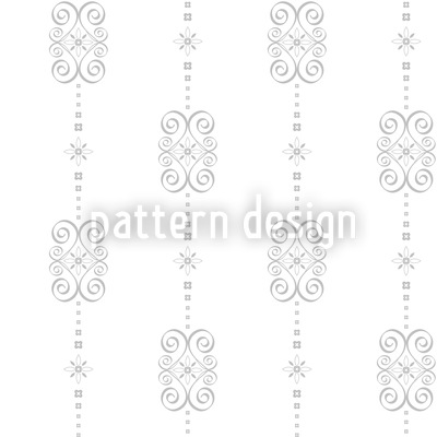 Mademoiselle Florale Repeat Pattern