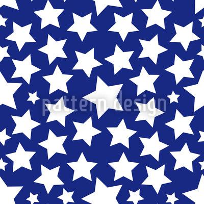 Abertausend Sterne Musterdesign