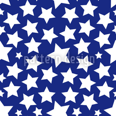 Gazillion Of Stars Pattern Design
