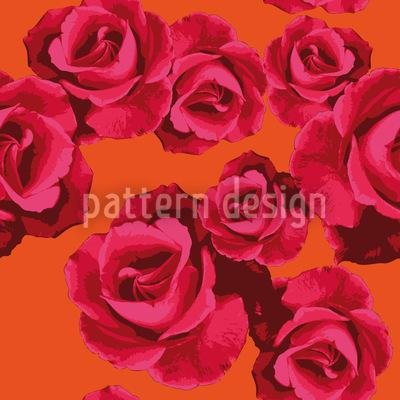 Rosen Für Dich Vektor Muster
