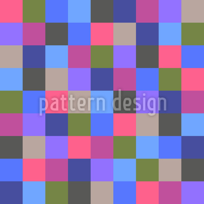 Squares For Rosy Design Pattern