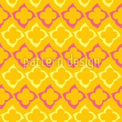 Orientalischer Sommer Muster Design